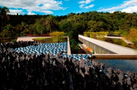 Burle Marx Education Center in Inhotim, Brumadinho\MG Arquitetos Associados © Leonardo Finotti