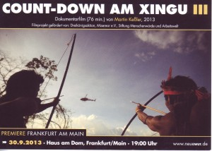 Martin Keßler: Count-Down am Xingu III