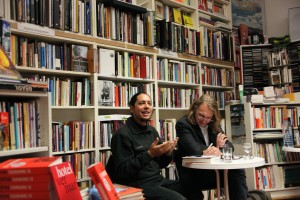 Ondjaki mit Michael Kegler, Copyright: TFM