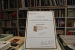 Buchhandlungspreis für TFM