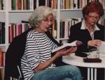 Maria Isabel Barreno (li.) und Renate Heß