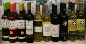 Weinauswahl bei TFM