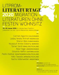 Litprom- Literaturtage