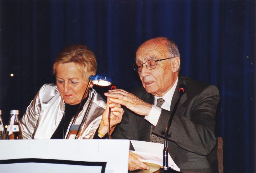 Ray-Güde Mertin, José Saramago, Frankfurt 2005