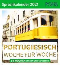 Pons Sprachkalender Portugiesisch Woche für Woche 2021